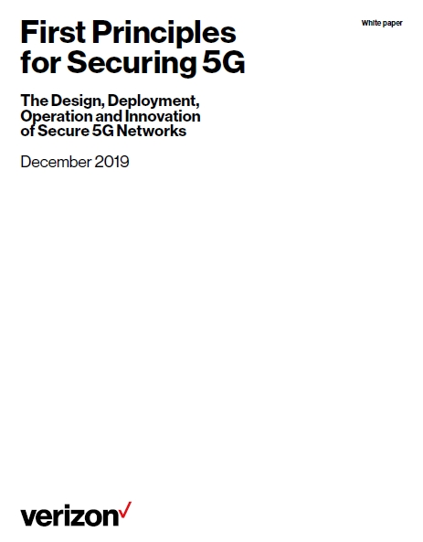 White Paper: First principles for securing 5G