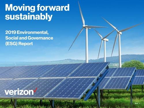 Verizon 2019 ESG Report