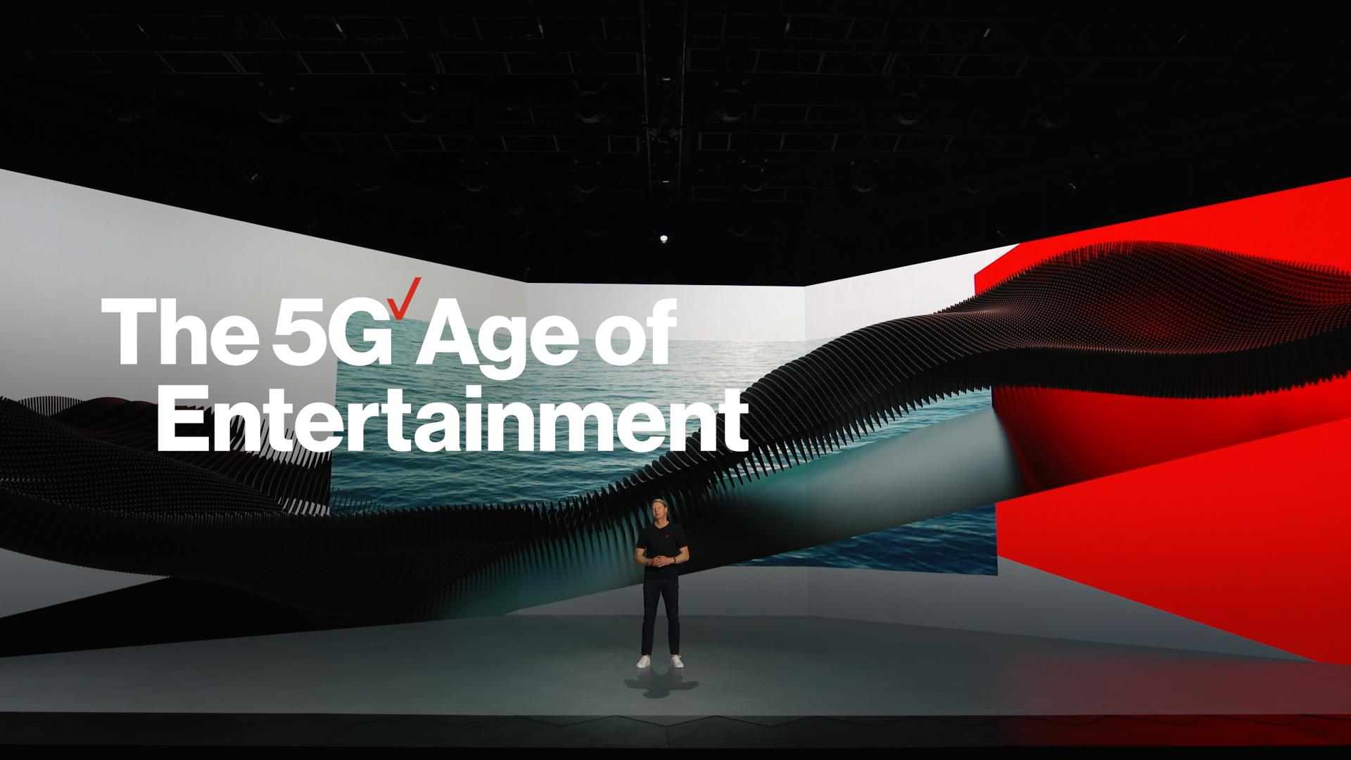 Verizon CES Keynote - 5G Age of Entertainment