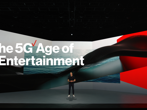 Verizon CES Keynote - 5G Age of Entertainment