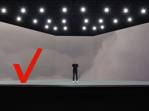 Verizon CES Keynote - Check