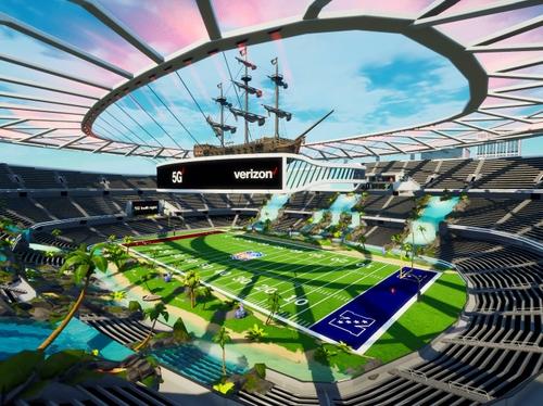 5G Stadium in Fortnite Creative - 2