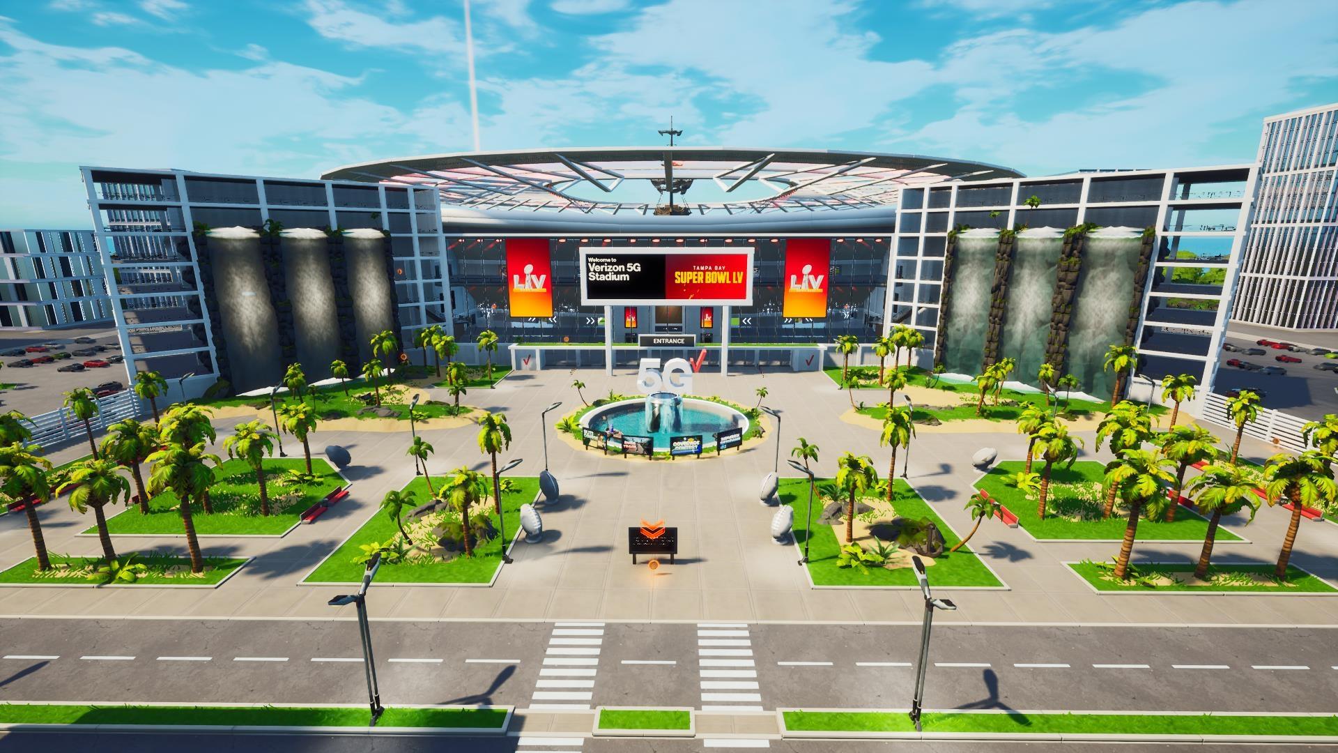 5G Stadium in Fortnite Creative - 3
