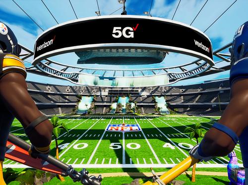 5G Stadium in Fortnite Creative
