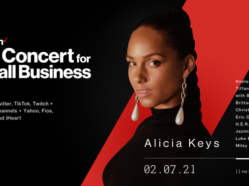 1 - Verizon - Alicia Keys - Big Concert for Small Business