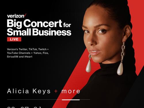 2 - Verizon - Alicia Keys - Big Concert for Small Business V