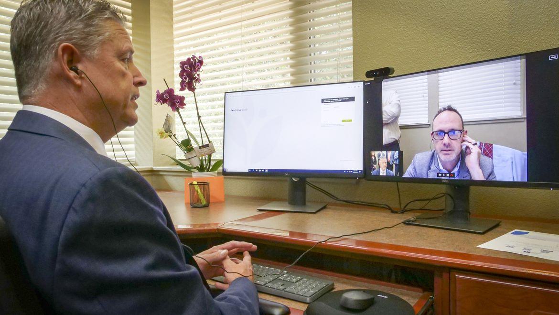 En respuesta a COVID-19, Blue Shield of California ofrece a la mayoría de sus miembros acceso al servicio de atención virtual de Teladoc Health a un costo de $0