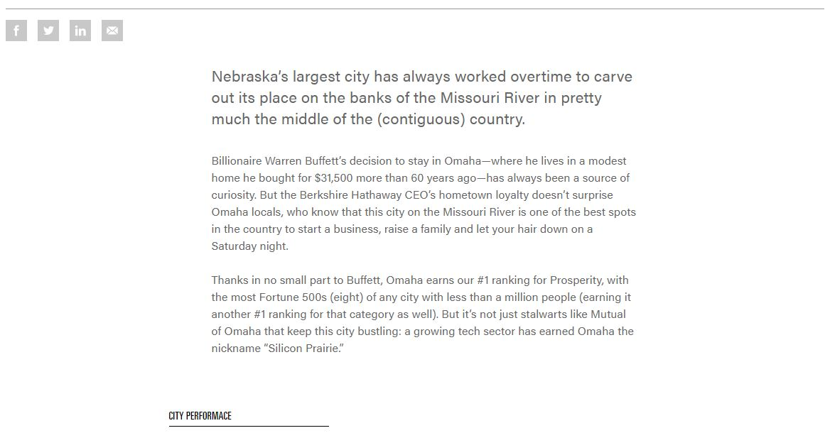 Americas Best Small Cities 2