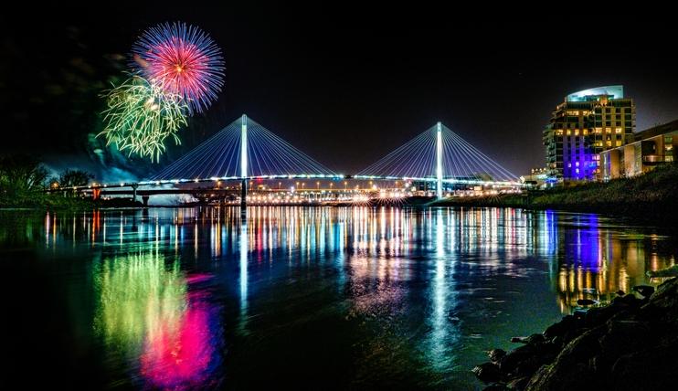 Fireworks over Bob