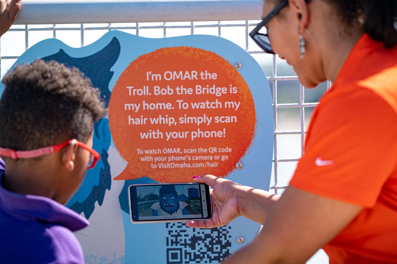OMAR Bridge Sign 2