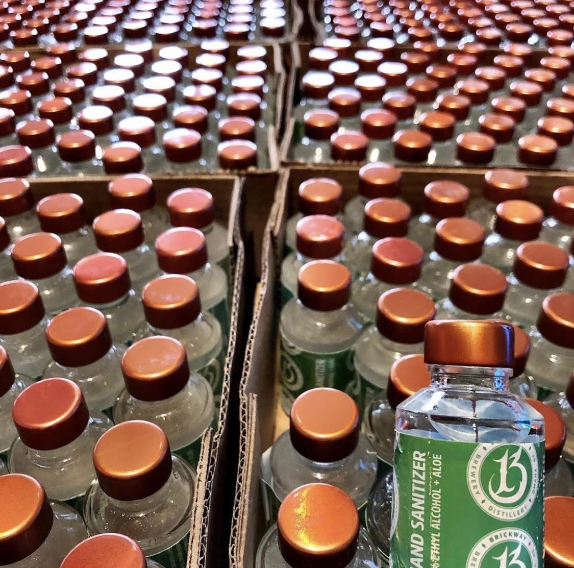 Brickway Brewery Hand Sanitizer