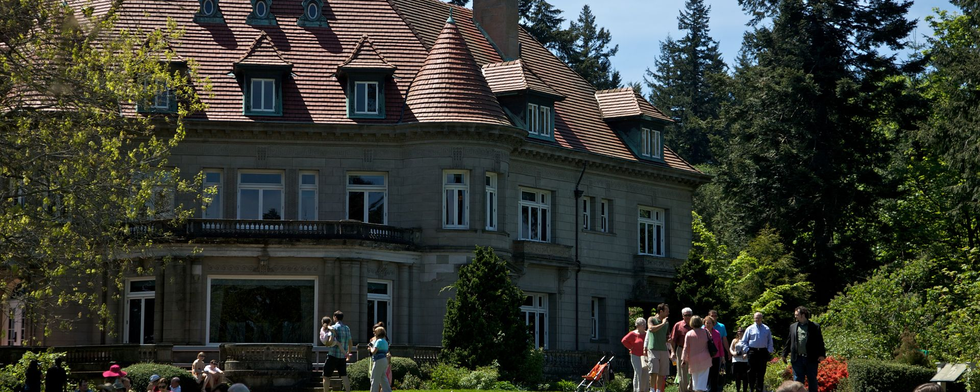 Pittock Mansion in the Summer