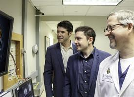Brad Mahon, Frank Garcea, and Edward Vates