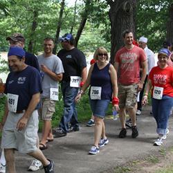Participants walking in the Wilmot Warrior Walk