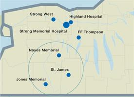 Leaders from UR Medicine and the St. James Mercy Hospital board announced to staff that they have fi