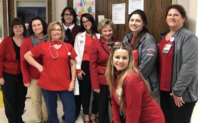 UR Medicine heart and vascular team members.