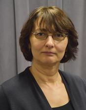 Portrait of School of Nursing faculty member Mina Attin, Ph.D., R.N.
