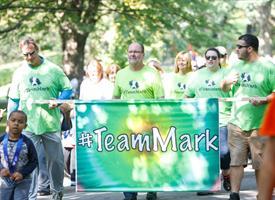 Team Mark at the 2017 Wilmot Warrior Walk