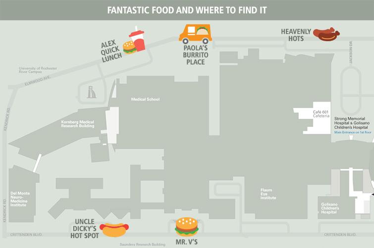 Food cart map