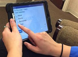 iPad screening questions