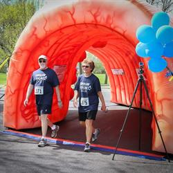 The the 8th annual Strollin' for the Colon 5K Walk/Run begins at 10 a.m. Saturday, May 11, at Genese