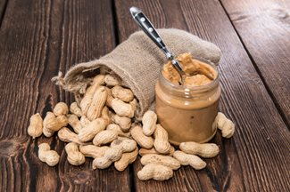 peanuts and peanut butter