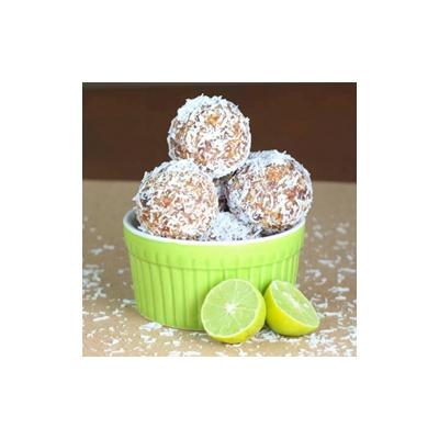 Key Lime Coconut Energy Bites