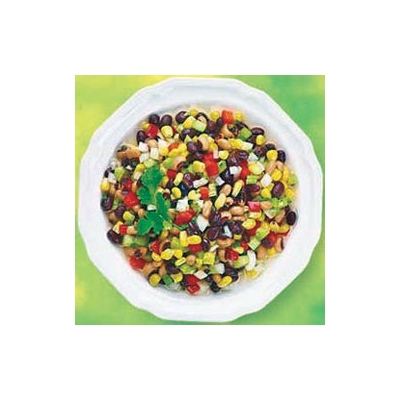 Grilled Corn and Kidney Bean Salad