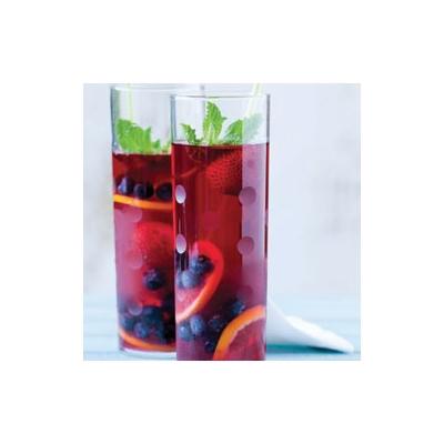 Hibiscus Pomegranate Cooler