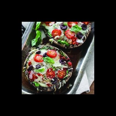 Portabella Pizza Sliders