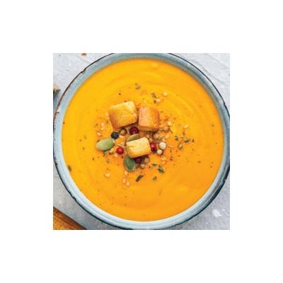 Red Lentil-Pumpkin Squash Soup
