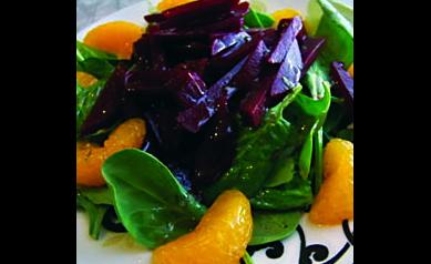 Beet And Orange Salad With Citrus Vinaigrette