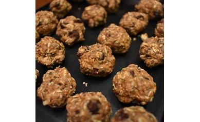 Peanut Butter Choco Chip Energy Balls