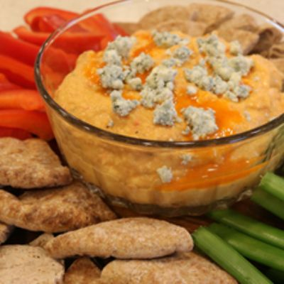 Spicy Buffalo Hummus