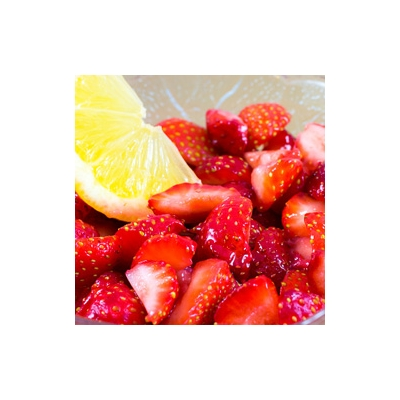 Citrus Macerated Strawberries