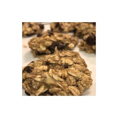3-Ingredient Choco Chip Cookies