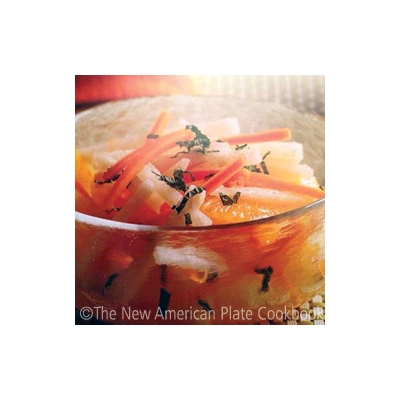 Jicama and Orange Salad with Mint