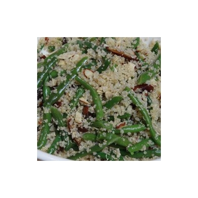 Quinoa Salad with Green Beans and Almonds