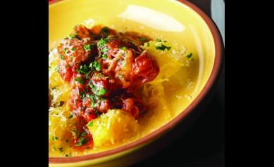 Spaghetti Squash Primavera