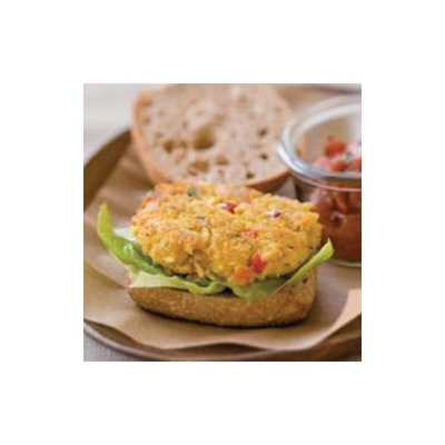 Middle Eastern Chickpea Burgers