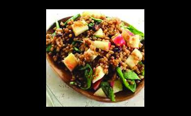 Apple Barley Salad