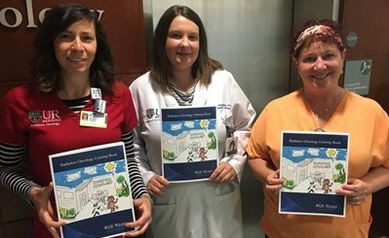 Radiation Oncology Staff team up to Create Educational Coloring Book for Kids