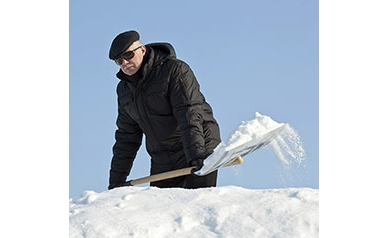 Shoveling Snow? Be Heart Smart