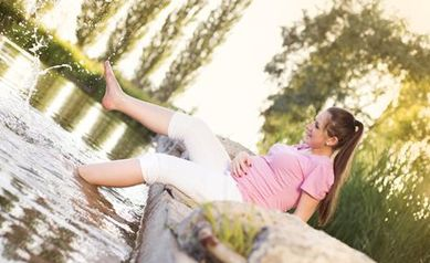 Keep Cool: Hot-Weather Tips for Pregnant Women