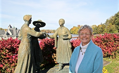 Her Rightful Place: Barbara Iglewski Inducted to the National Women's Hall of Fame