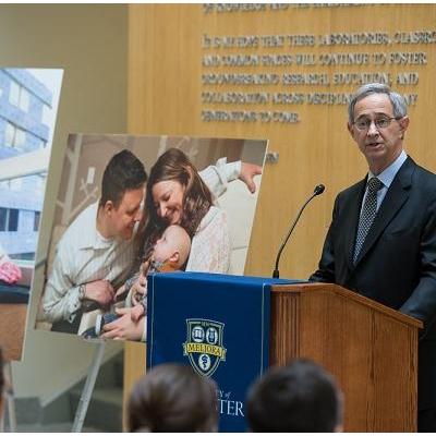 Wegman Family Charitable Foundation Gives Hospital $7M