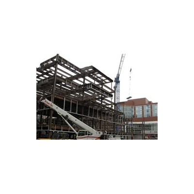 Construction Milestone - Crane Comes Down
