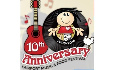 Fairport Music and Food Festival Celebrates Decade of Support