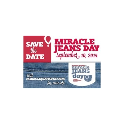 Trade in Work Attire for Jeans on Miracle Jeans Day!
