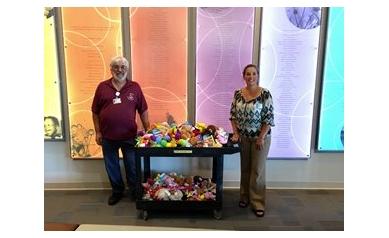 Volunteer Spotlight: Halisha's Toy Chest